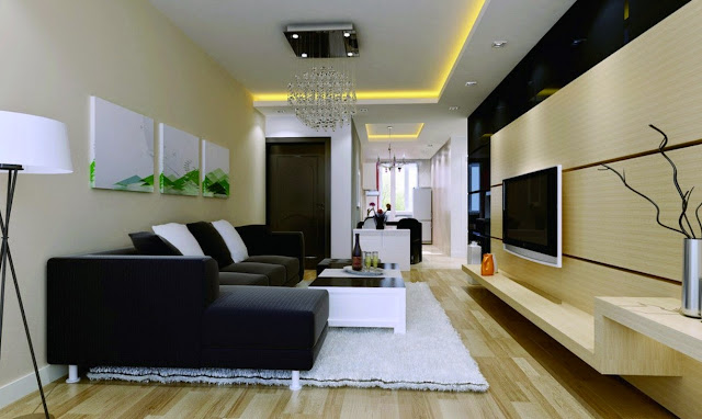 Simple Wall Designs For Living Room
