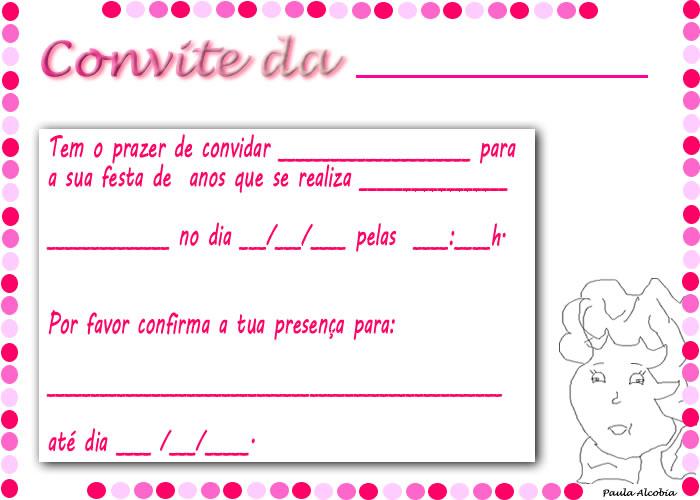 Ficam Aqui Mais Alguns Convites De Anivers  Rio