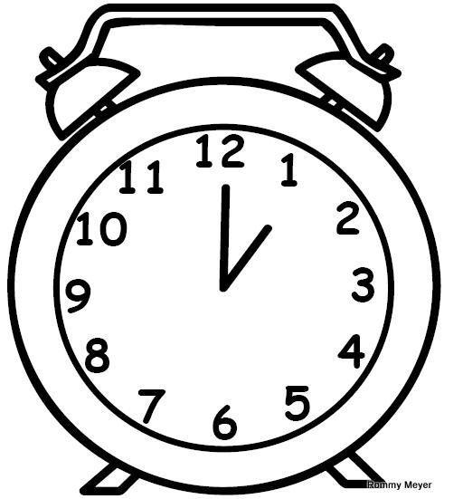 Dibujos de relojes - Imagenes divertidas - imagenes graciosas