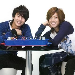 Kim Hyun Joong and Kim Hyung Joon