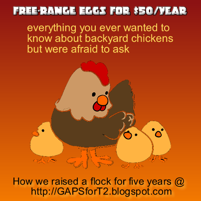 free range eggs for $50/year