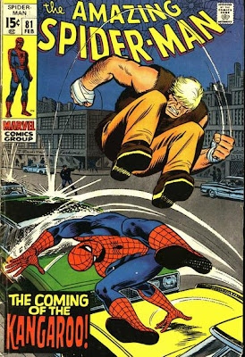 Amazing Spider-Man #81, Origin and first appearance of the Kangaroo