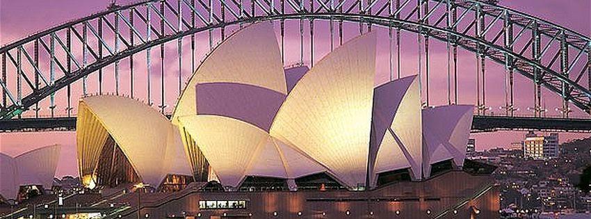 Couverture facebook à australie