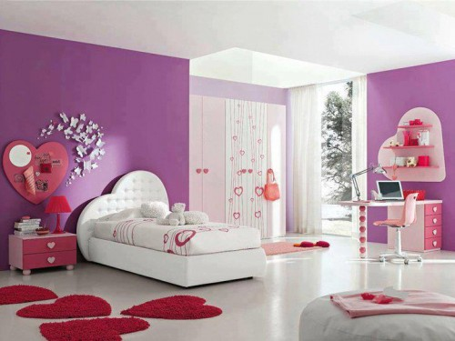 belles chambres pour les filles d cor int rieur. Black Bedroom Furniture Sets. Home Design Ideas