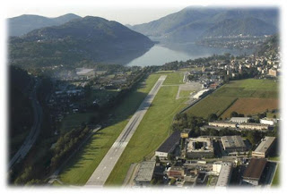 Lugano Airport, Switzerland