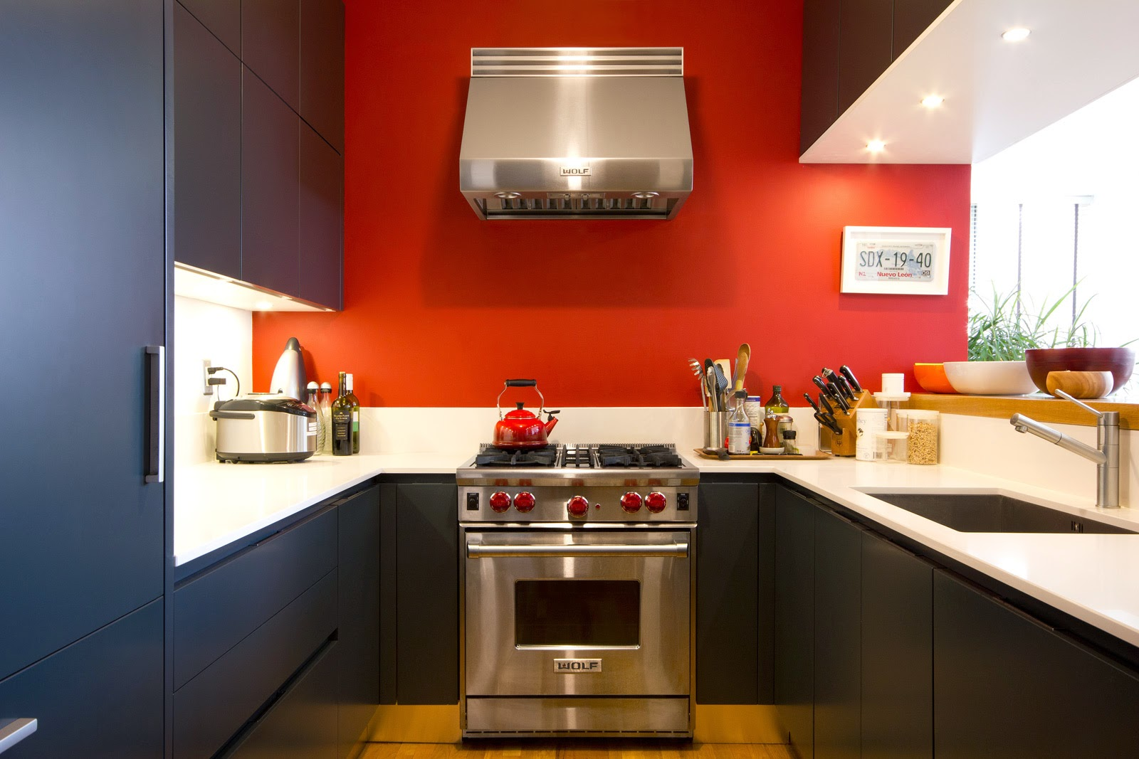 Red Wall Kitchen 8 Trendy Colors For Painting Kitchen Interior Home Painting Tips