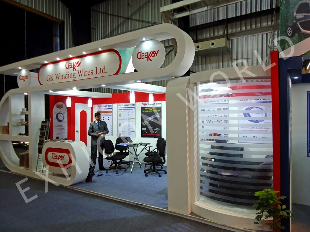 Food Exhibition Stall : Stall design designers and fabricators in delhi