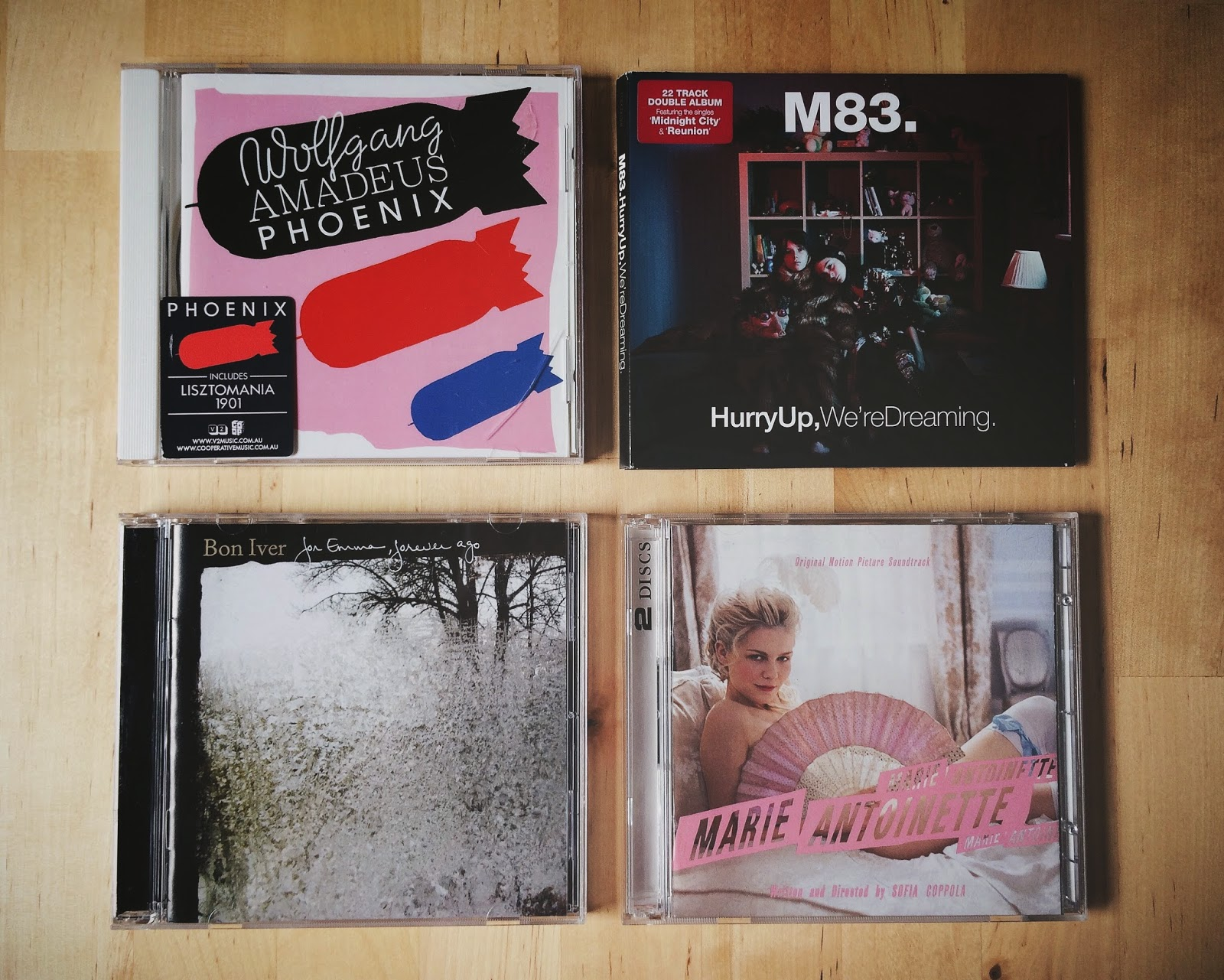 Spring Playlist, Bramble and Thorn, Marie Antoinette, M83, Music, Phoenix, Bon Iver