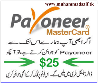 Learn What's Payoneer Master Card?