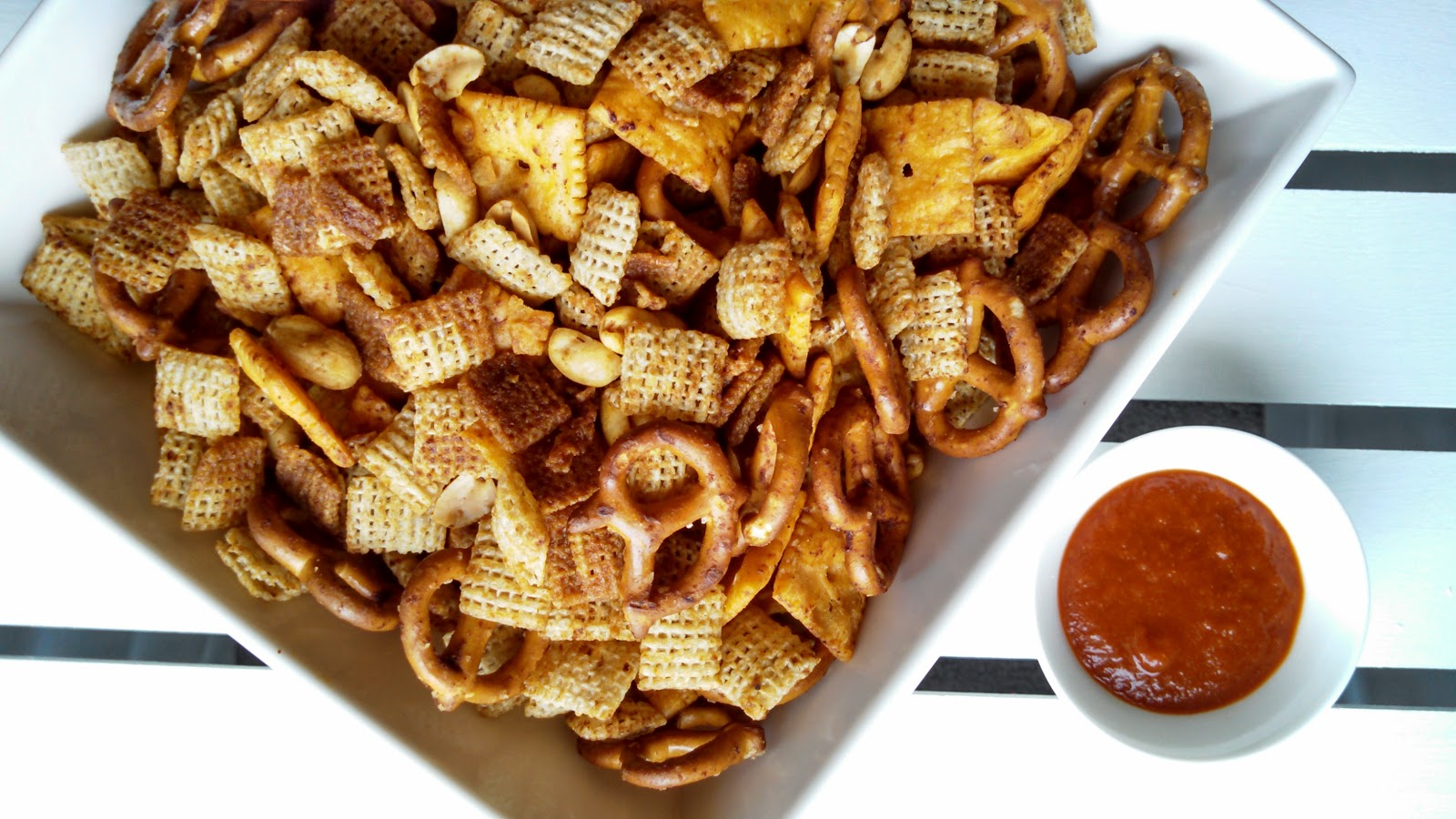 homemade sriracha homemade sriracha spicy sriracha chex mix chex mix ...
