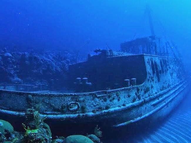 kapal di dasar Bermuda