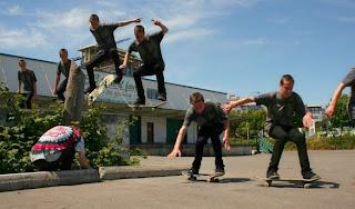 trick kickflip skateboard