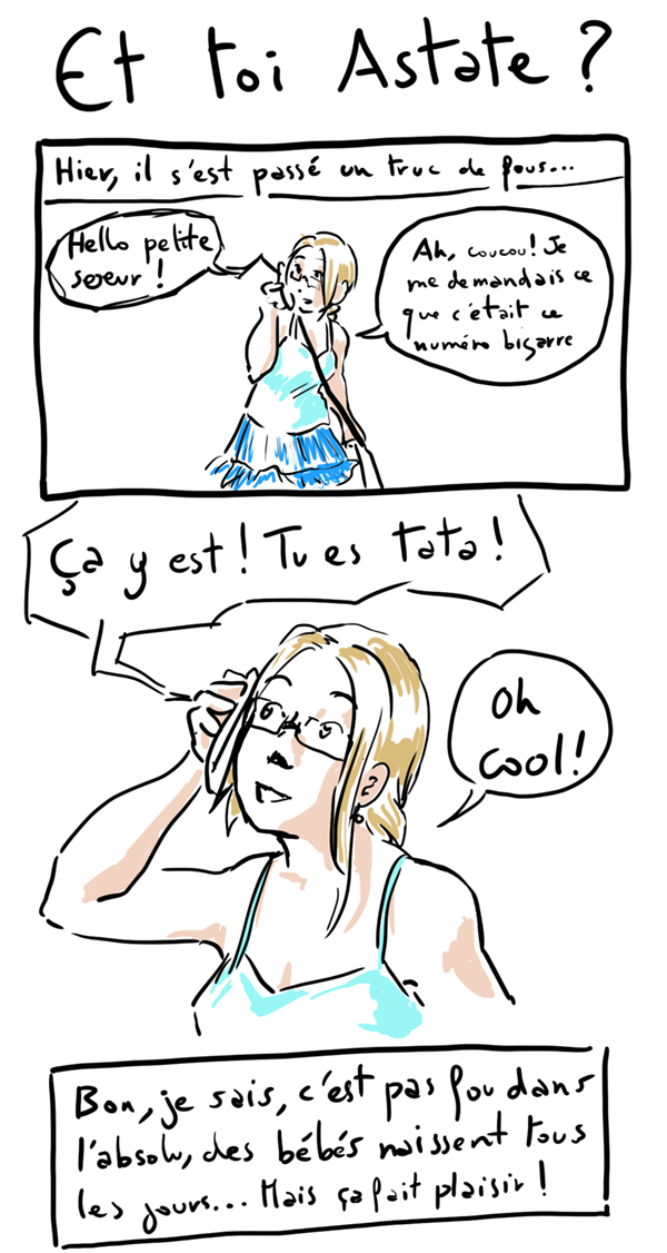 Une nouvelle de fous : Je suis Tata !