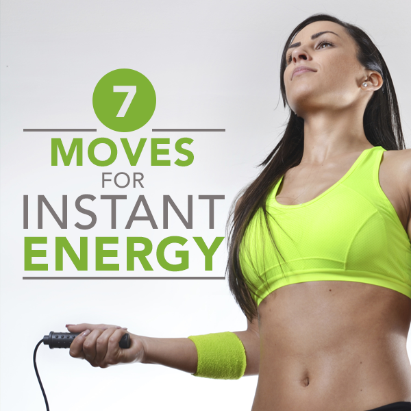 7 Moves That Can Give You Instant Energy