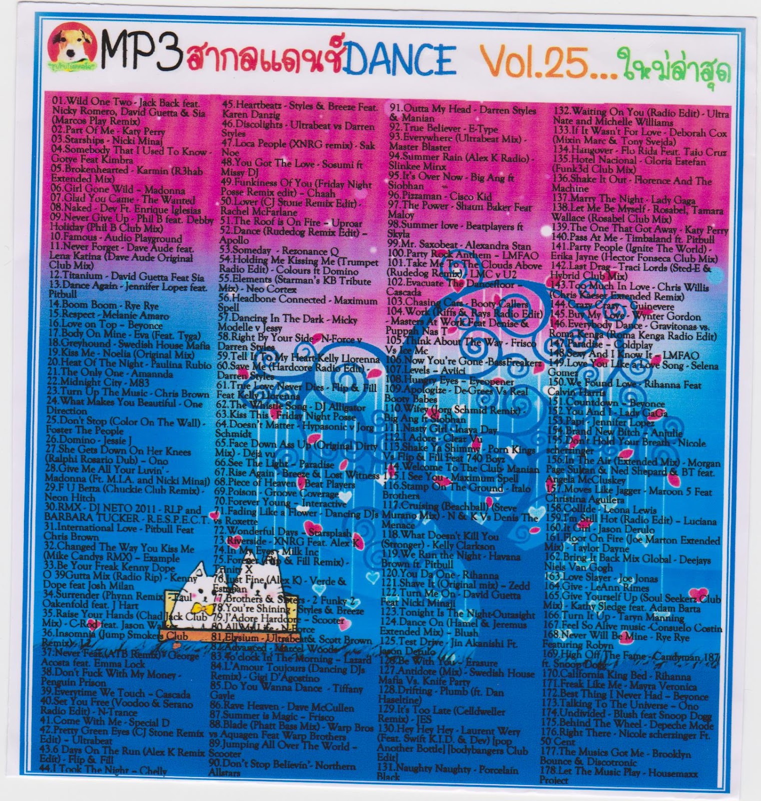 Download [Mp3]-[Dance Inter] เพลงสากลแดนช์ ใน DANCE VOL 25 มากถึง 178 เพลง 4shared By Pleng-mun.com