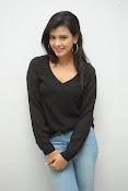 Hebah Patel glam pics in black top-thumbnail-9