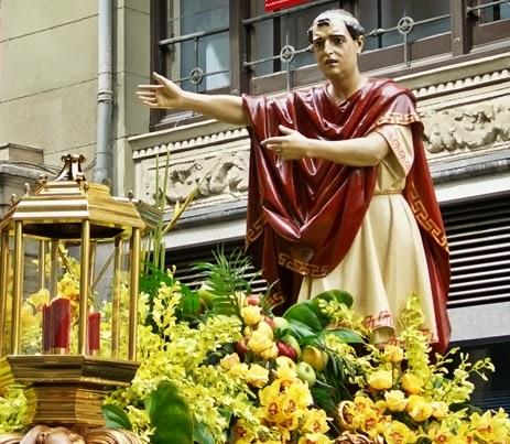Pilato del Paso del Ecce Homo. Cofradía del Dulce Nombre de Jesús Nazareno. León. Foto A. Márquez.