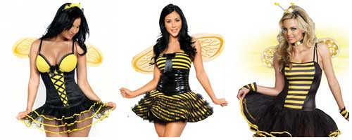 disfraces de abeja sexy para chicas