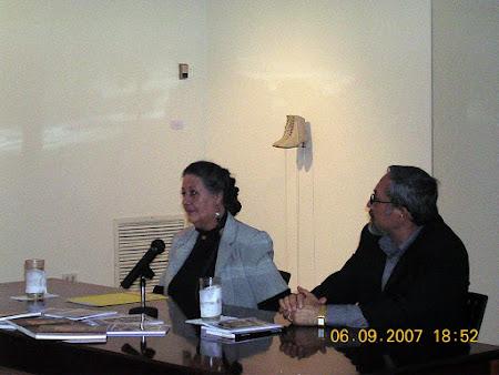CLAUDIA HÉRODIER Y ANDRÉ CRUCHAGA-Presentación de libros: Pie en tierra y Oscuridad sin fecha