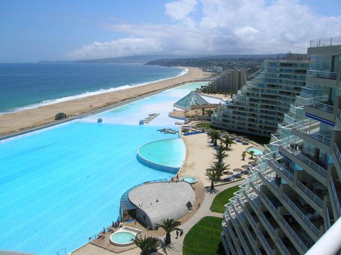 Of World 39 S Largest Swimming Pool San Alfonso Del Mar Resort Algarrobo Chile