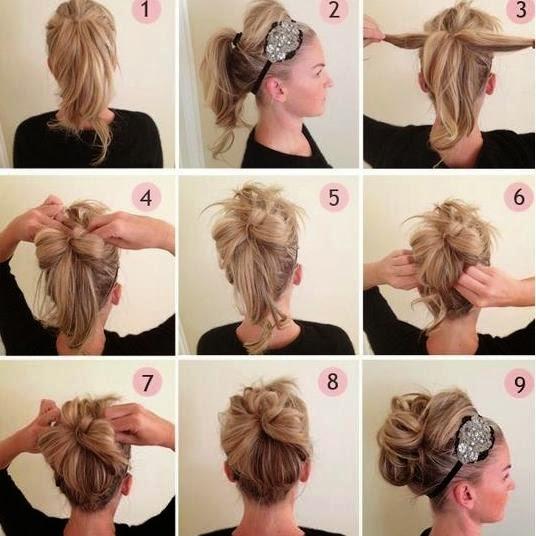 Tutoriel coiffure et maquillage my hijab - Coiffure facile cheveux mi long a faire soi meme ...