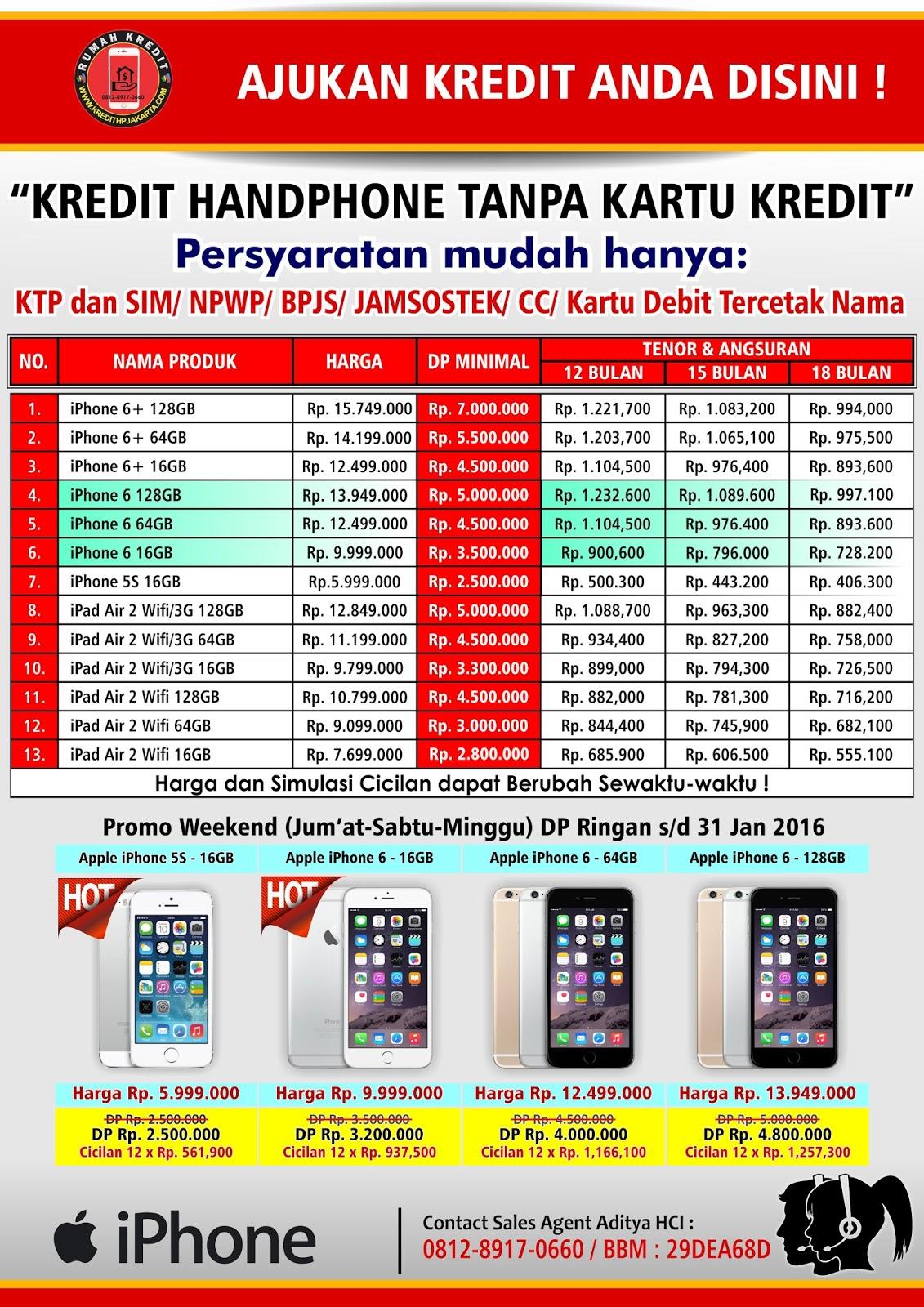 Kredit Handphone Roxy Jakarta Kredit IPhone Tanpa Kartu