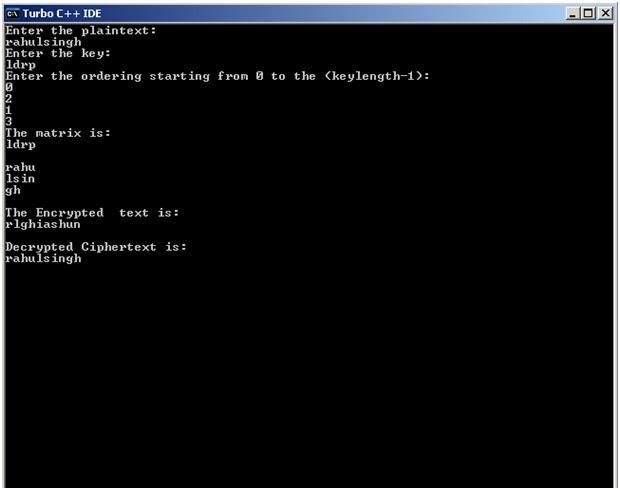 Dda Line Drawing Algorithm Source Code C : Computer graphics columnar transposition cipher