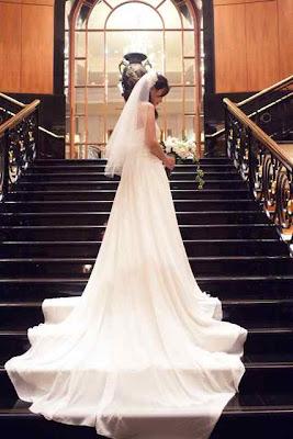 michelle huimin bridal veil