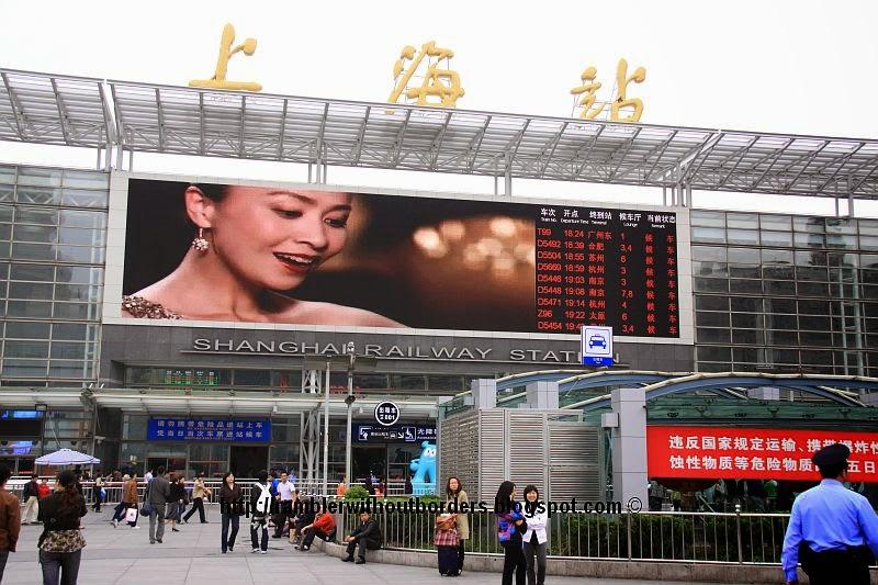 Shanghai Station, China