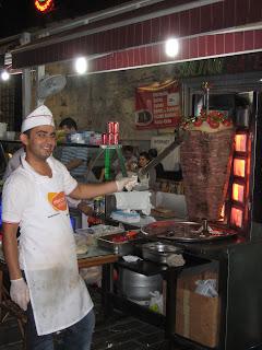 The largest Doner Kebab spit I have ever seen.