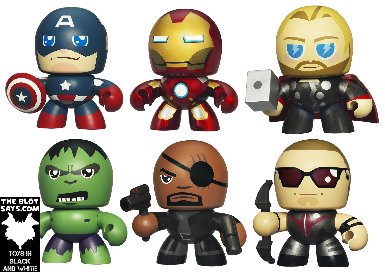 The blot says the avengers movie mini mighty muggs - Mini iron man ...