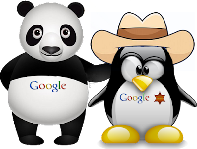 SEO Concepts - difference between google panda and google penguin