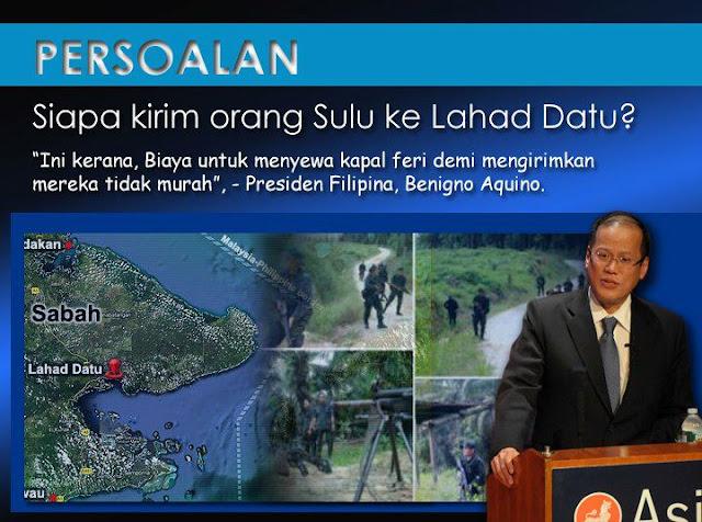 Siapa Kirim Orang Sulu ke Lahad Datu?