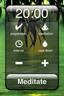 Meditate - Meditation Timer Cell Phone App