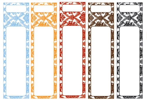 Lever Arch Label Template Vosvetenet – Sticker Templates Word