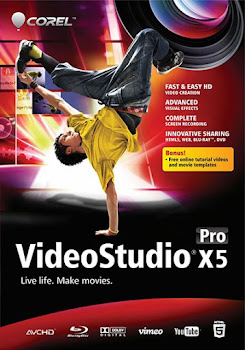 Capa Download Corel VideoStudio Pro X5 Baixar Download