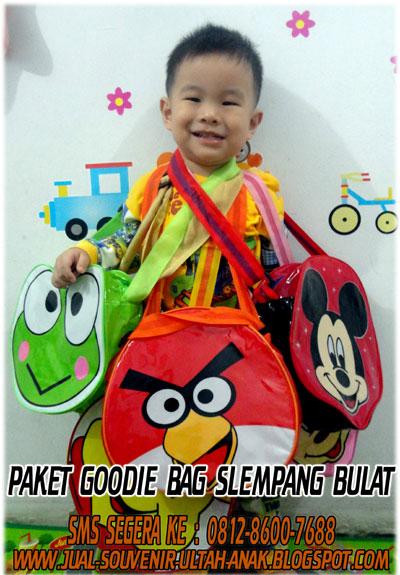 Murah: Paket C - Souvenir Ulang Tahun Anak Murah - Tas Goodie Bag