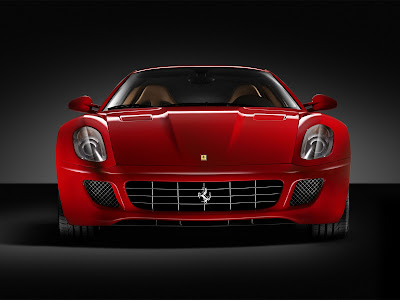 Ferrari 599 HD Wallpaper for iPhone