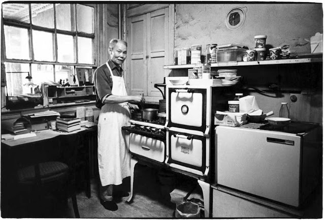 Harvey wang fotografo mr wong 39 s kitchen 1980 for Cucinare granchio