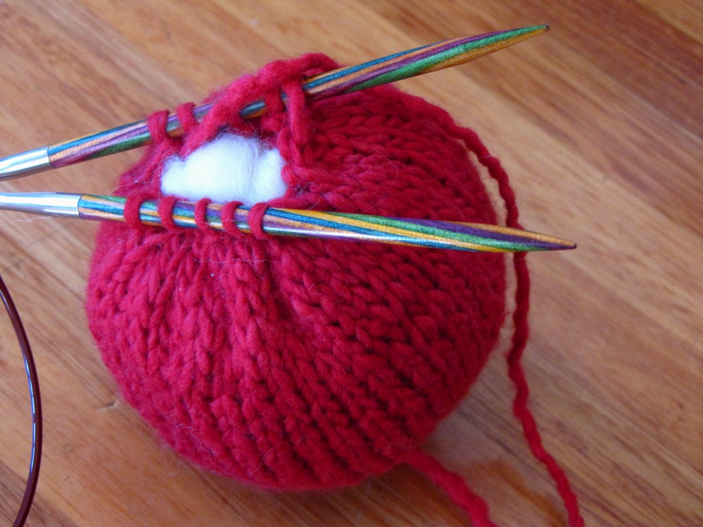Knitting Tutorial : Apple knitting pattern tutorial natural suburbia