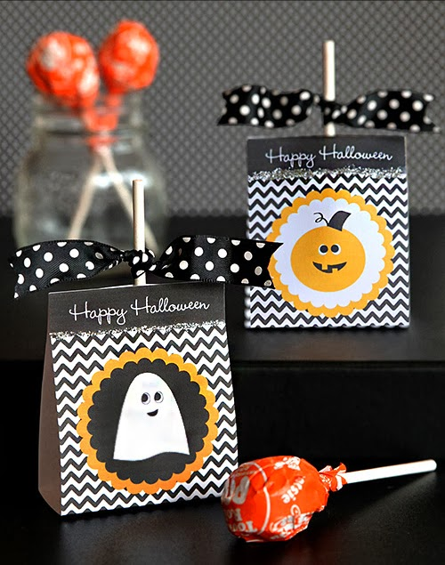 freebies printable recursos gratis halloween imprimibles papel regalo lollipops chupachups