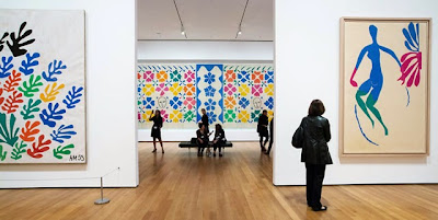 Henri Matisse cut outs MOMA