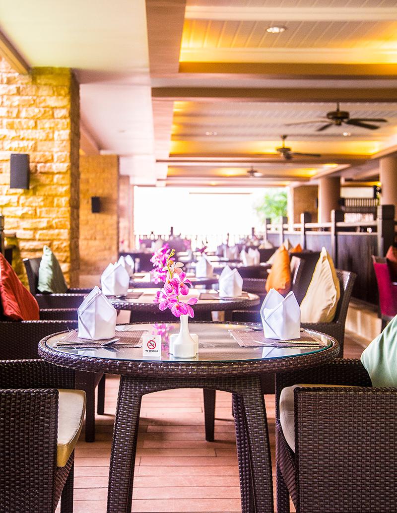Buffet breakfast at Radisson Blu Plaza Phuket hotel
