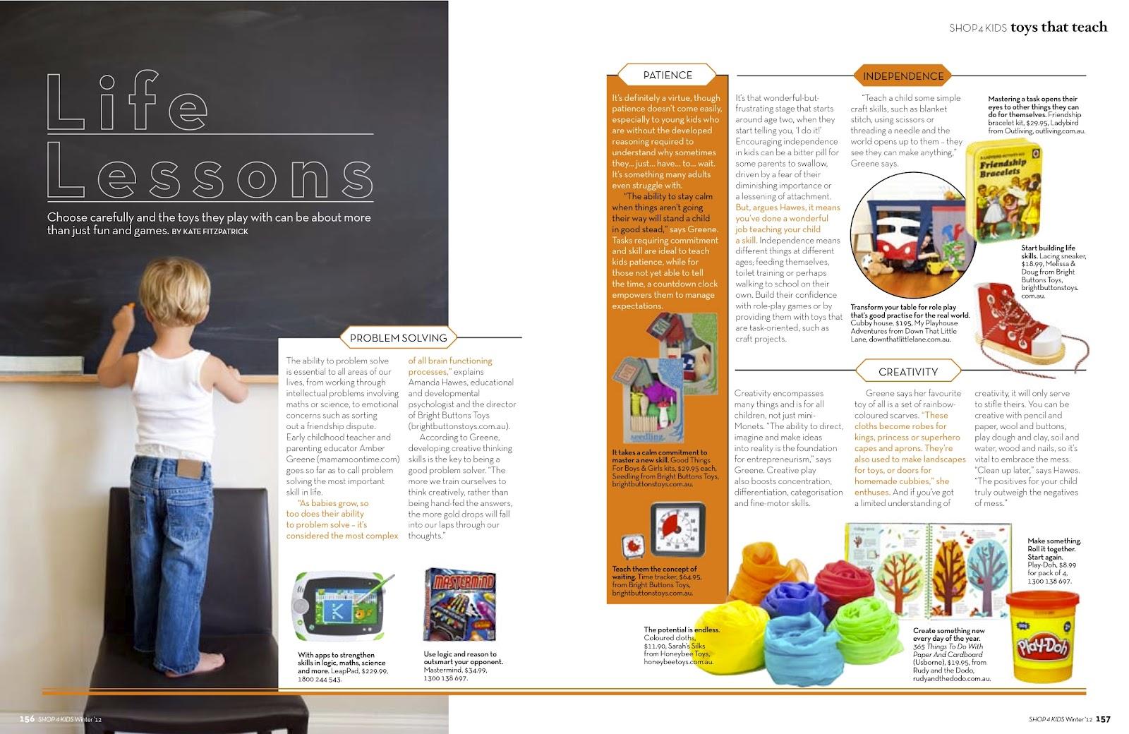 Toys Easter Magazine : Amber greene s toy suggestions on shop kids magazine