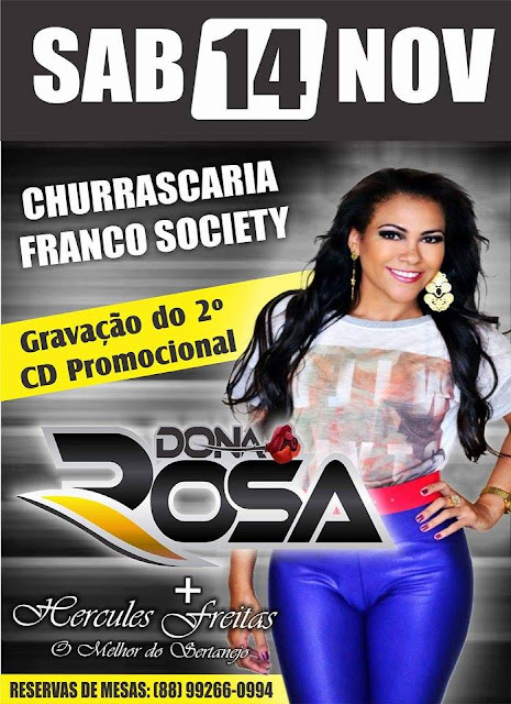 DONA ROSA NA CHURRASCARIA FRANCO SOCIETY