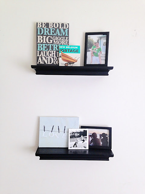 wall shelves picture collage