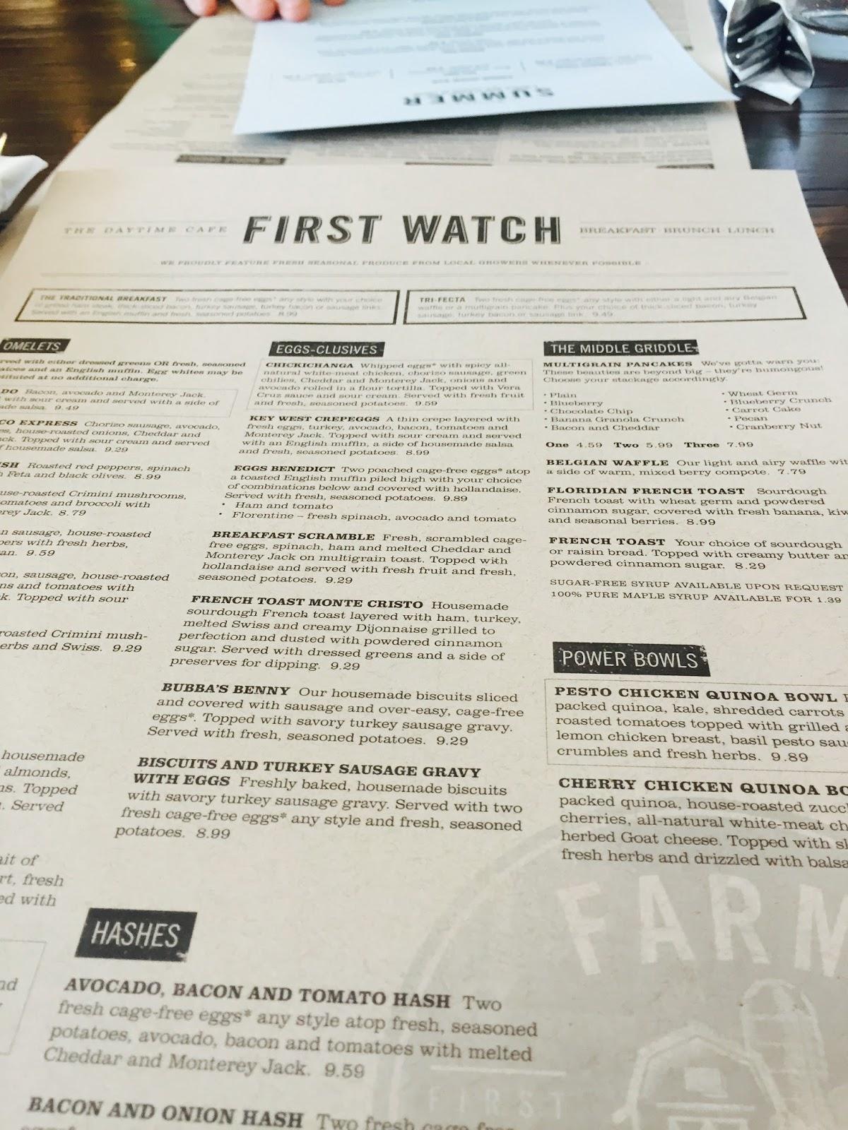 Leen Eats: First Watch - operationtwenties.com