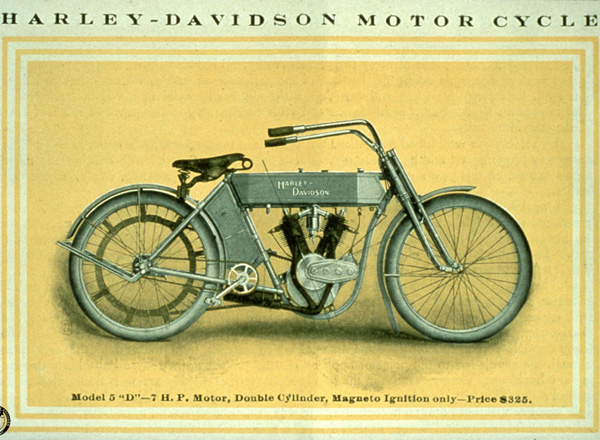 Harley-Davidson Advertising Early 1900's ~ Riding Vintage