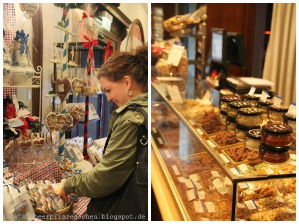 Dallmayr Lebkuchenherzen München Sschokolade Oktoberfest