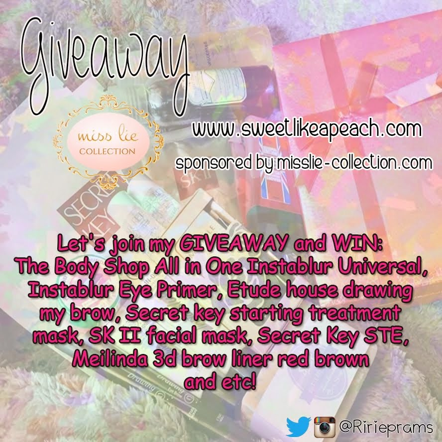 Giveaway Sweet Therapy ft. Miss Lie
